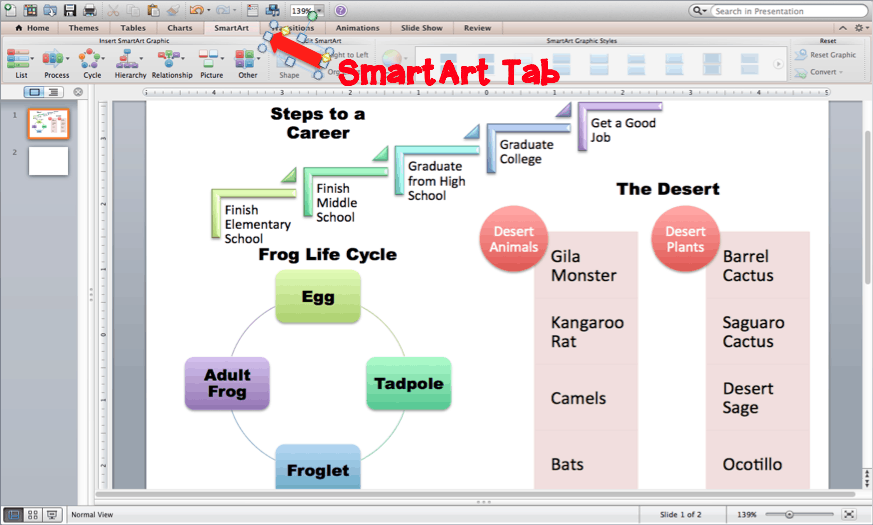 3rd, 4th, and 5th grade students can easily create nonfiction text features like charts and diagrams using PowerPoint