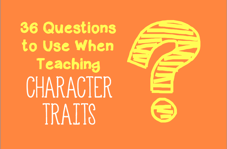 36 Questions Based Off Bloom's Taxonomy To Use When Teaching Character Traits: Character Traits And Motivations Worksheets At Alzheimers-prions.com