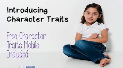 Teaching Character Traits: Low Prep Activities - Teaching Made ...