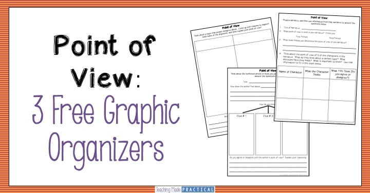 point of view graphic organizers teaching made practical. Black Bedroom Furniture Sets. Home Design Ideas