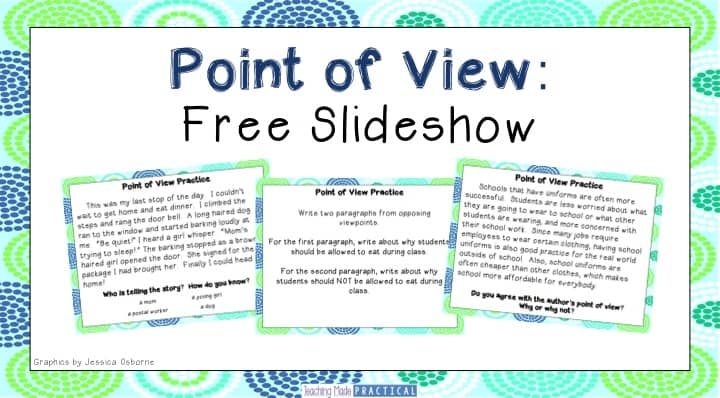Free Point of View Slideshow - Teaching Made Practical