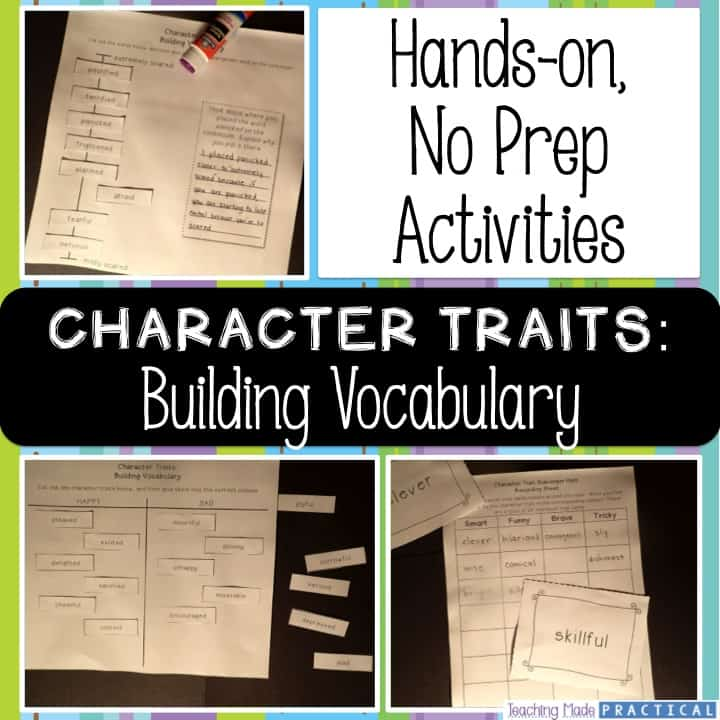 Character Traits: Building Vocabulary