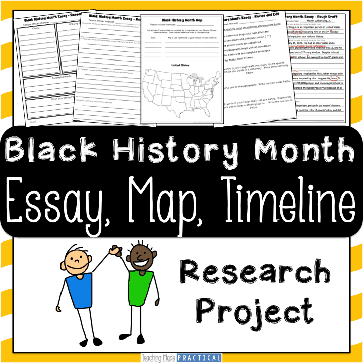 Black history month essays