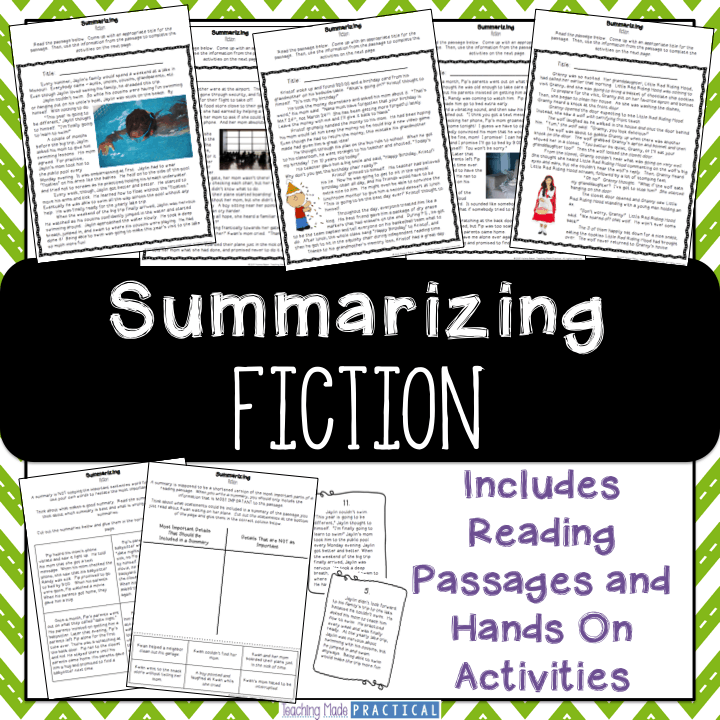 Summarizing Fiction