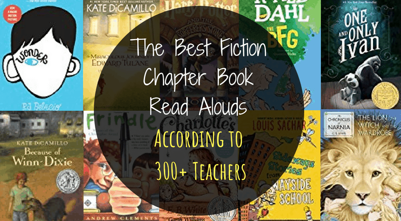 The best fiction chapter book read alouds for 3rd grade, 4th grade, and 5th grade students